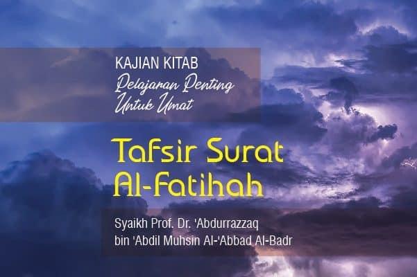 Tafsir Surat Al Fatihah Radio Rodja 756 Am