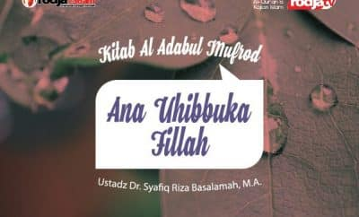 Download ceramah agama Islam tentang Ana Uhibbuka Fillah - Ustadz Syafiq Riza Basalamah