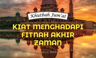 Download mp3 Khutbah Jumat Kiat Menghadapi Fitnah Akhir Zaman