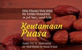 Download mp3 kajian Islam tentang Keutamaan Puasa