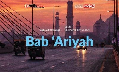 Download mp3 kajian bab 'ariyah