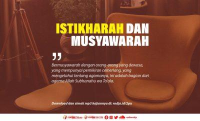 Download mp3 kajian tentang istikharah dan musyawarah