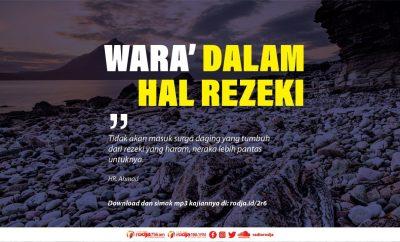 Download mp3 kajian tentang Wara' Dalam Hal Rezeki