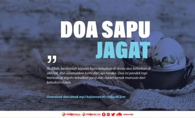 Download mp3 kajian tentang doa sapu jagat