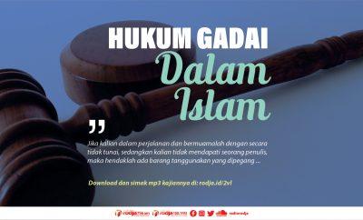Download mp3 kajian tentang Hukum Gadai Dalam Islam