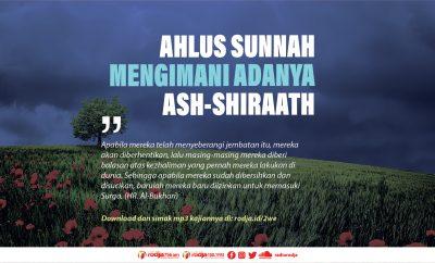Download mp3 kajian tentang Ahlus Sunnah Mengimani Adanya Ash-Shiraath