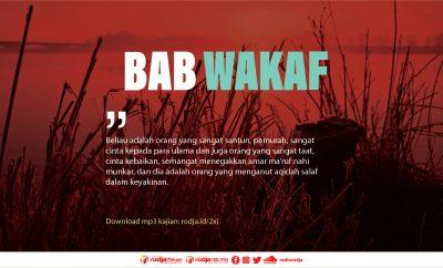 Download ustadz erwandi bab wakaf