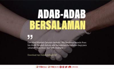 Download mp3 kajian Adab-Adab Bersalaman