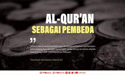 Download mp3 kajian Al-Quran sebagai pembeda