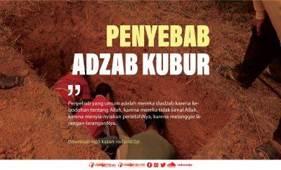 Download mp3 kajian Penyebab Adzab Kubur
