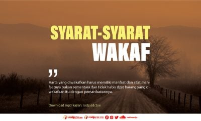 Download mp3 kajian Syarat-Syarat Wakaf