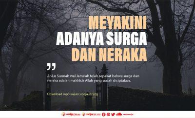 Download mp3 kajian Ahlus Sunnah Meyakini Adanya Surga dan Neraka