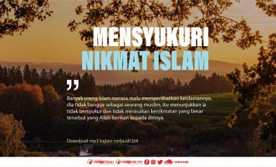 Download mp3 kajian Khutbah Jumat Singkat Mensyukuri Nikmat Islam