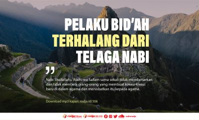 Download mp3 kajian Pelaku Bid'ah Terhalang dari Telaga Nabi