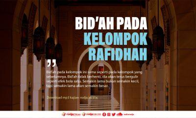 Download mp3 kajian Bid'ah Pada Kelompok Rafidhah