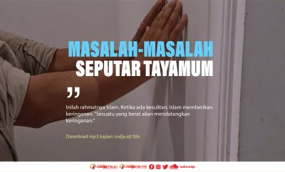 Download mp3 kajian Masalah-Masalah Seputar Tayamum