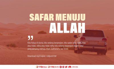 Download mp3 kajian Bab Adab-Adab Safar