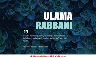 Download mp3 kajian Makna Ulama Rabbani