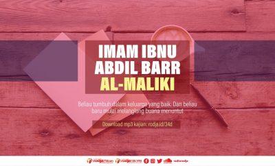 Download mp3 kajian Biografi Imam Ibnu Abdil Barr Al-Maliki