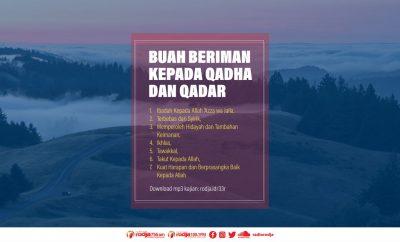 Download mp3 kajian Buah Beriman Kepada Qadha dan Qadar