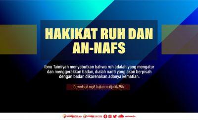 Download mp3 kajian Hakikat Ruh dan An-Nafs