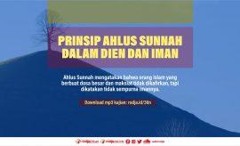 Download mp3 kajian Prinsip Ahlus Sunnah Dalam Dien dan Iman