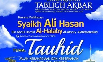 Informasi Tabligh Akbar Syaikh Ali Hasan Al-Halabi di Masjid Istiqlal - 16 Agustus 2015: Thumbnail