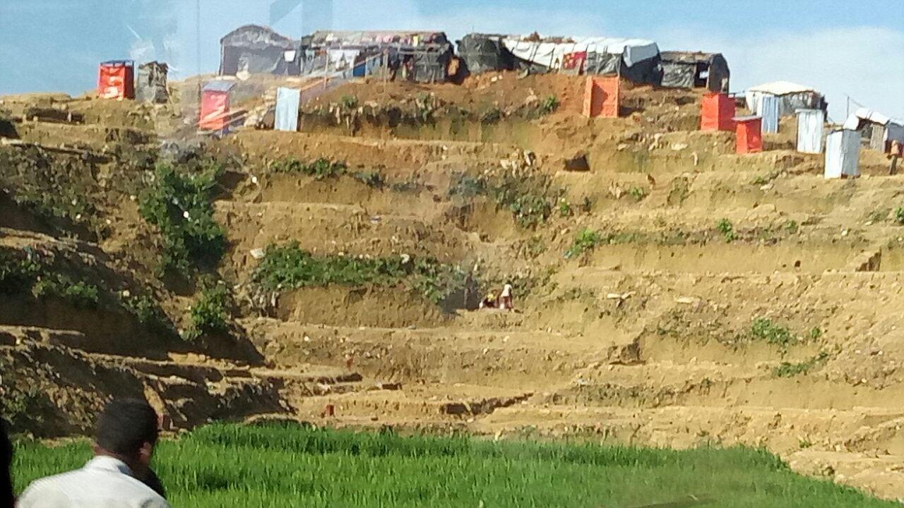 Camp pengungsi Rohingya daerah Balohali