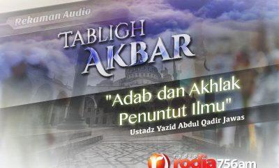 Download Ceramah Agama Islam: Adab dan Akhlak Penuntut Ilmu (Ustadz Yazid Abdul Qadir Jawas)