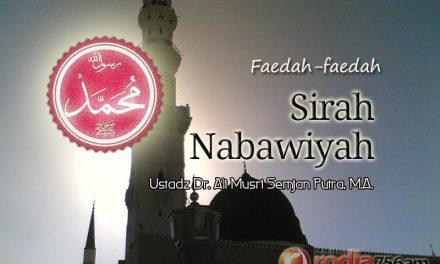 Kisah Terpilihnya Abu Bakar Menjadi Khalifah – Faidah Sirah Nabawiyah (Ustadz Dr. Ali Musri Semjan Putra, M.A.)