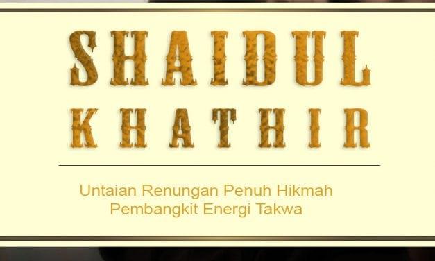 Hakikat Dunia – Kitab Shaidul Khathir (Ustadz Badrusalam, Lc.)