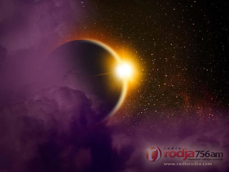 Penjelasan seputar Gerhana Matahari dan Shalat Gerhana (Ustadz Abu Qatadah)