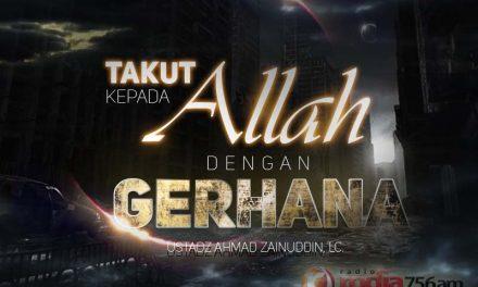 Takut kepada Allah dengan Gerhana (Ustadz Ahmad Zainuddin, Lc.)