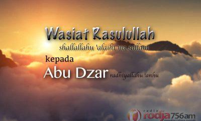 Download Ceramah Agama Islam: Wasiat Rasulullah shallallahu 'alaihi wa sallam kepada Abu Dzar (Ustadz Yazid Abdul Qadir Jawas)