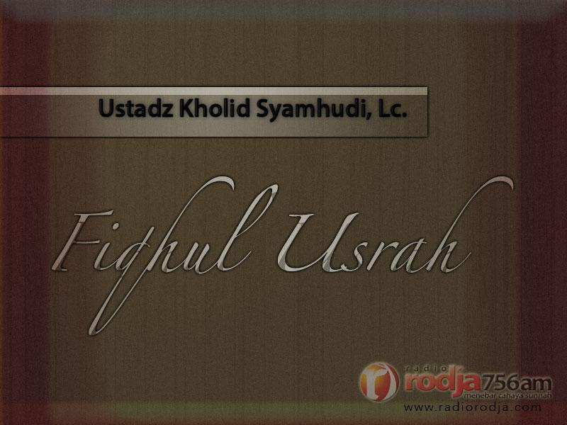 Tanggung Jawab Orang Tua dalam Menafkahi Anak (Ustadz Kholid Syamhudi, Lc.)