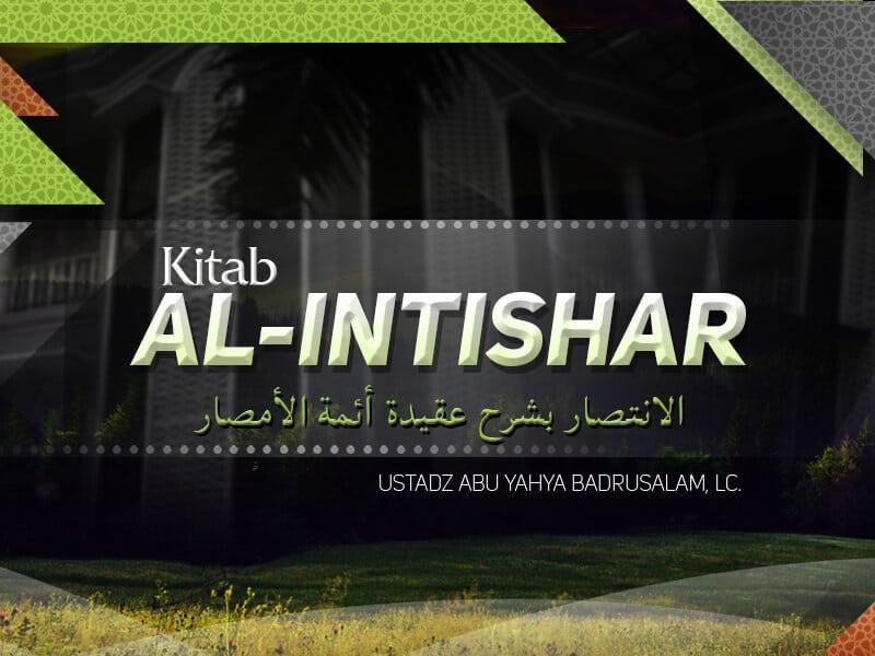 Penjelasan tentang Jihad – Kitab Al-Intishar (Ustadz Badrusalam, Lc.)