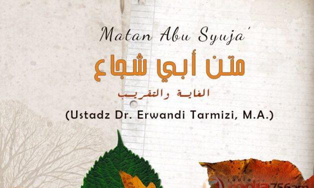Bab Wadiah / Titipan – Bagian ke-1 – Kitab Matan Abu Syuja' (Ustadz Dr. Erwandi Tarmizi, M.A.)
