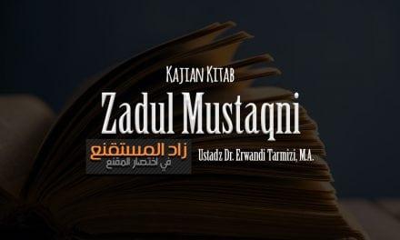 Hukum Syarat Jual Beli Bab Khiyar – Bagian 3 – Kitab Zadul Mustaqni (Ustadz Dr. Erwandi Tarmizi, M.A.)