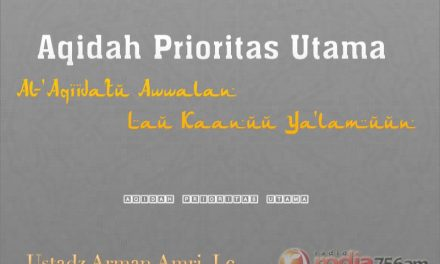 Peristiwa-Peristiwa di Hari Kiamat – Bagian ke-1 – Aqidah Prioritas Utama (Ustadz Arman Amri, Lc.)