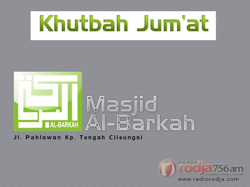 Amalan Setelah Ramadhan – Khutbah Jumat (Ustadz Badrusalam, Lc.)