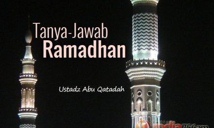Tanya-Jawab: Ramadhan: Niat puasa Ramadhan harus dengan lafadz atau dalam hati dan awal-akhir puasa Ramadhan ikut ulil amri atau organisasi tertentu?