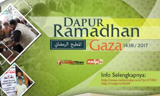 Laporan Program Dapur Ramadhan untuk Muslimin Gaza – Ramadhan 1438 / 2017