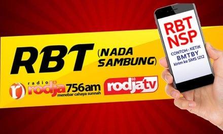 RBT (Nada Sambung) Radio Rodja-Rodja TV