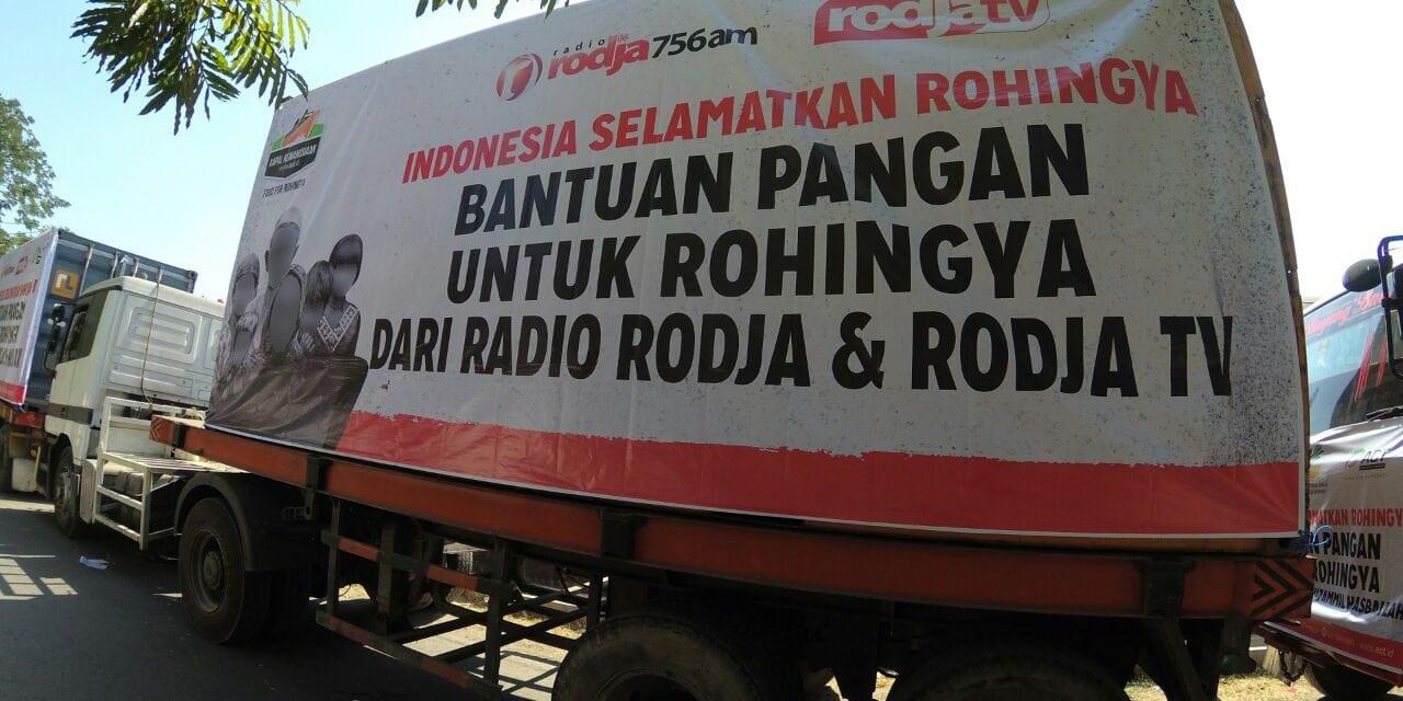 Bantuan 200 Ton Beras dari Pendengar dan Pemirsa Rodja telah Dikirimkan kepada Pengungsi Rohingya