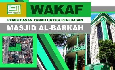 Informasi: Wakaf Pembebasan Tanah untuk Perluasan Masjid Al-Barkah Cileungsi 1439 H (Thumbnail)