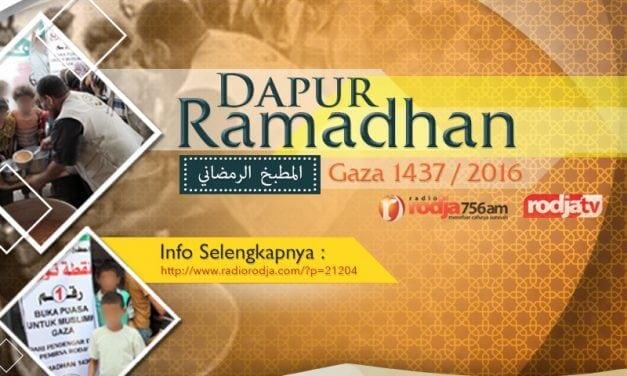 Program Dapur Ramadhan untuk Muslimin Gaza – Ramadhan 1437 / 2016