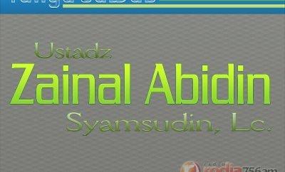 Tanya-Jawab Agama Islam: Ustadz Zainal Abidin Syamsudin, Lc.